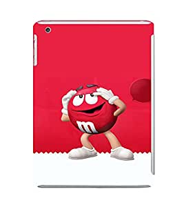EPICCASE M&M case Mobile Back Case Cover For Apple Ipad Mini 3 (Designer Case)