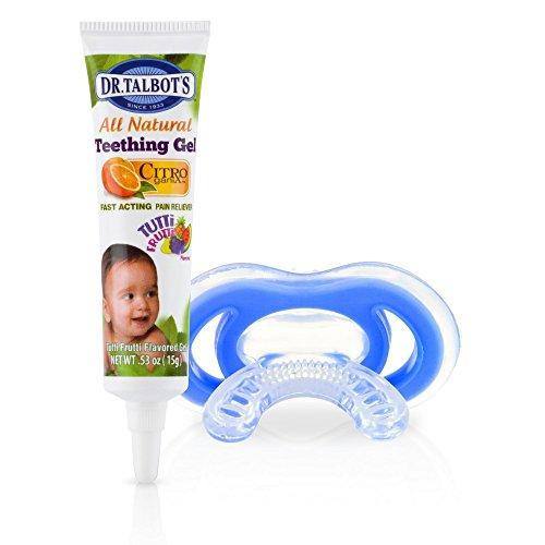 Nuby Gum-eez mit Zahnungsgel (ab 4 Monate)