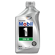 Mobil 1 94003 10W-30 Synthetic Motor Oil - 1 Quart Bottle (Pack of 6)