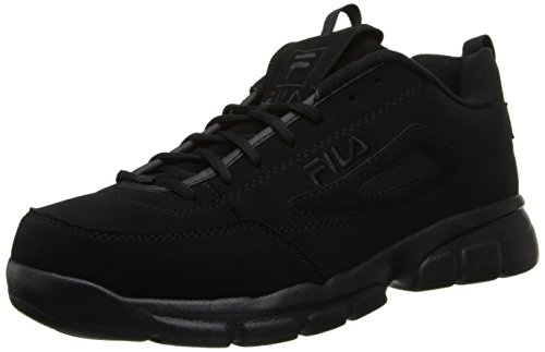 Fila Men's Disruptor SE Training Shoe, Triple Black, 12 M US
