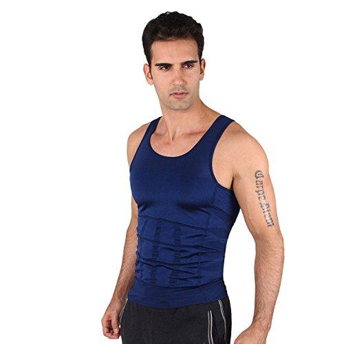 CRAZY BIGSAVE! HOTER® fascia da uomo gilet, camicia Abs addome sottile, prezzo/pezzo,-#Best Seller-Canottiera dimagrante Brand USA AMAZON!!)