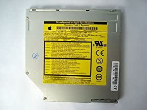 "Apple Macbook PRO 15"" A1150 IDE Dvd+rw Drive Superdrive Slot Load Uj-857-c with Cable"