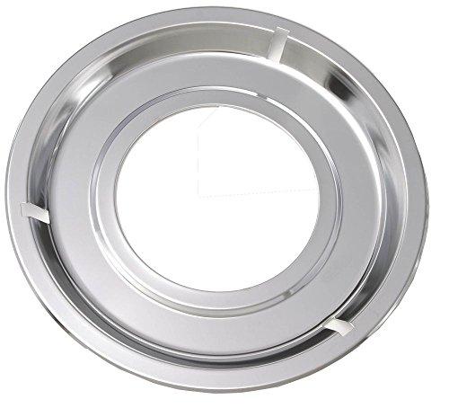 5303131115 Factory Original Oem Oven Drip Pan. Round, Chrome, Diameter: 8-1/4