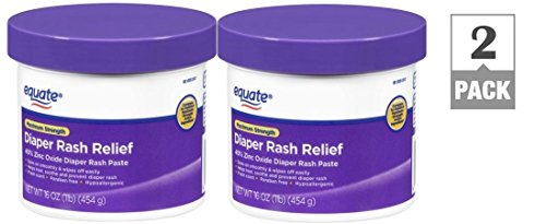 Equate Diaper Rash Relief Maximum Strength 16 Oz (2 pack)