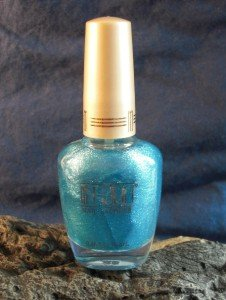 Milani Nail Lacquer Glitzy in Denim #10, 0.45 Fl Oz/13.2ml
