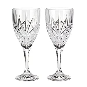Godinger Dublin Crystal Set of 12 Goblets