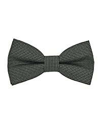 Tiekart Grey Impression Men Bow Ties
