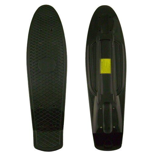 Retro Cruiser Skateboard Blank Deck 22 Inch Black SFT A09