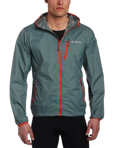 Best Offers Columbia Men&39s Trail Fire Windbreaker Jacket (X-Large