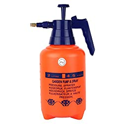 Garden Pressure Spray Pump By Kraft Seeds - Capacity 2 Ltr (Color May Vary)