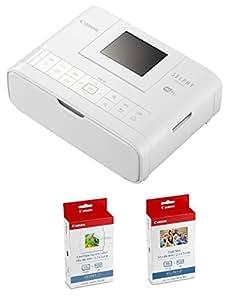 限定品 Canon プリンター SELPHY CP1200 カードプリントキット ホワイト CP1200CARDPRINTKIT(WH)