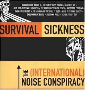 The (International) Noise Conspiracy - Survival Sickness [Vinyl LP] - Zortam Music