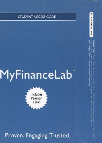 NEW MyFinanceLab with Pearson eText -- Access Card -- for Personal Finance: Turning Money into Wealth (Myfinancelab compare prices)