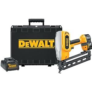 DEWALT DC618K XRP 18-Volt Cordless 1-1/4 Inch - 2-1/2 Inch 16 Gauge 20 Degree Angled Finish Nailer Kit from DEWALT