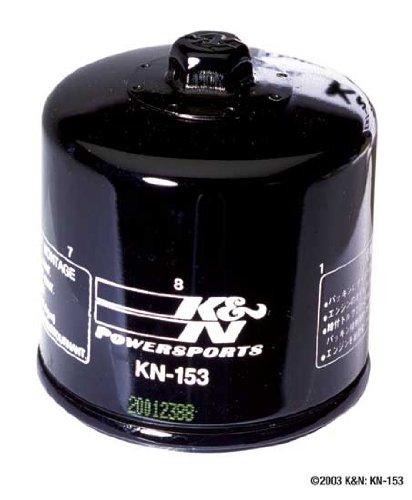 K&N Kn-153 Oil Filter (Black) (Kn-153)