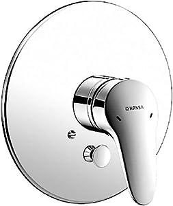 Hansa Fertigmontageset Hansamix 0184 für Einbaukörper und Wannenbatterie, verchromt 01849173  BaumarktKritiken und weitere Informationen
