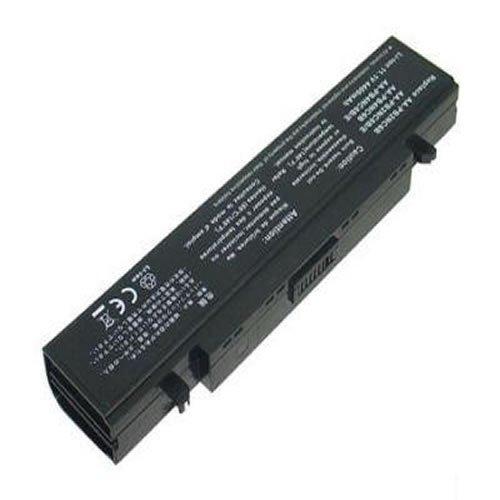 PELTEC@ Premium - Batteria per notebook/laptop Samsung NP-Q320 NP-Q430 Q530 R23 R530 R590 E151 RV720 R439 R440 70A00D/SEG Q318 R408 R458 R468 R510 R519 R710 R522 R520 R580 Hawk R460 R505 R509 R730, 4400 mAh, colore: Nero
