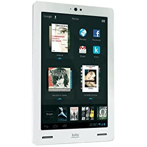 "eBook reader / Tablette 17.8 cm (7 "") KOBO ARC 7 HD 16 Go blanc"