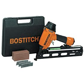 Bostitch N62FNK-2 15-Gauge 1-Inch to 2-1/2-Inch Angled Finish Nailer