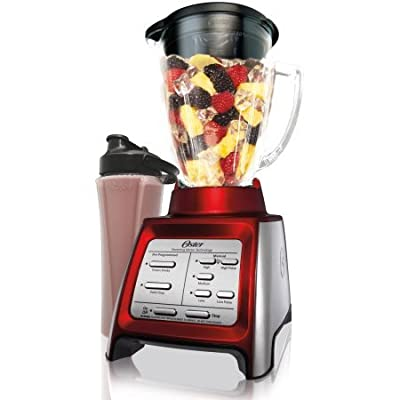 Oster Designed for Life 7-Speed Blender with a Smoothie Cup, BLSTRM-DZR-BG0