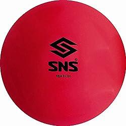 SNS MATCH SMOOTH FLURO PINK Hockey Balls - Box of 6.