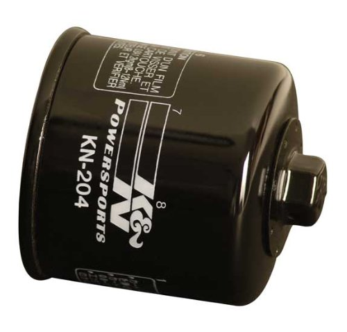 K&N KN-204 Motorcycle/Powersports High Performance Oil Filter primary