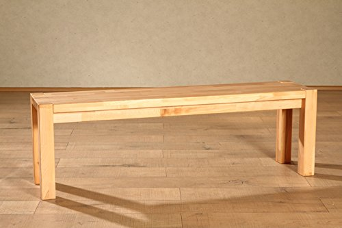 SAM-Massive-Sitzbank-Paul-140-x-33-cm-in-Kernbuche-massiv-lackiert-vielseitig-einsetzbar-Bank-geeignet-fr-zwei-Personen-natrliches-Ambiente-Lieferung-teilzerlegt-per-Paketdienst