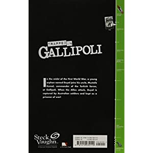 Steck-Vaughn Timeline Graphic Novels: Individual Student Edition (Levels 7-8) Trapped in Gallipoli