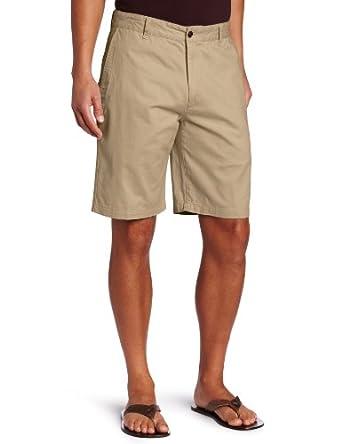 Dockers Men's Perfect Short D3 Classic Fit Flat Front, New British Khaki, 30