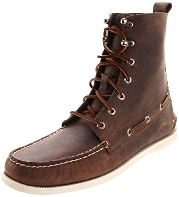 Sperry Top-Sider Men's A/O 7 Eye Boot,Brown,7.5 M US