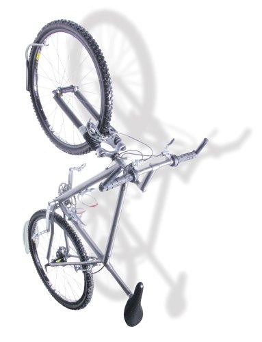 Delta Leonardo Single Bicycle Rack with Da Vinci Tire Tray
