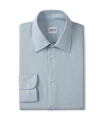 Armani Collezioni Men's Check Dress Shirt