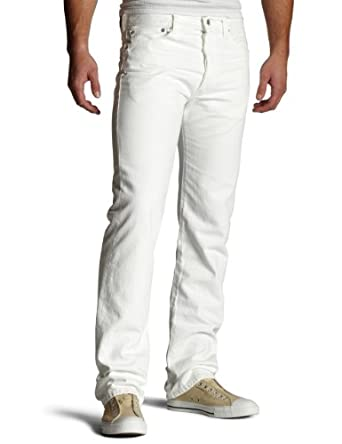 Levi's Men's 501 Original Fit Jean,Optic White,31x36