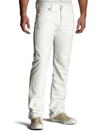 Levi's Men's 501 Original Fit Jean,Optic White,28x32