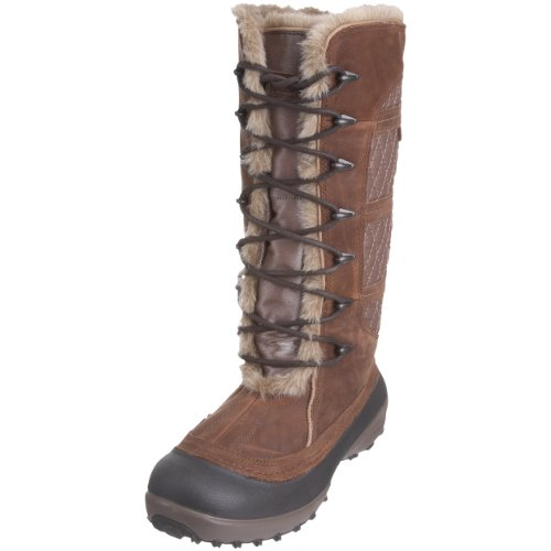 Columbia Women's Heather Canyon Omni-Heat W Cordovan/British Tan Snow Boot BL1459 231 5 UK 5 UK
