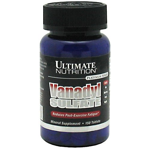 Ultimate Nutrition Vanadyl Sulfate 10mg 150 Tabs Post Workout