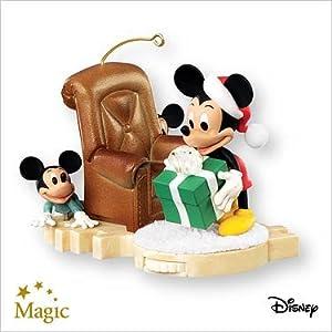 #!Cheap Hide 'n' Peek Mickey Mouse 2007 Hallmark Christmas Ornament QXD4209