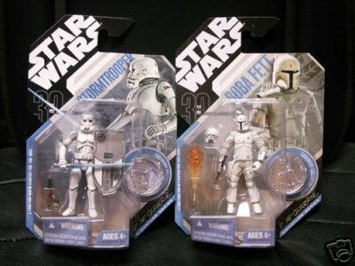 41Q8Zp8V69L Cheap  Star Wars Ralph McQuarrie Concept No. 9   Stormtrooper 3.75 Figure with Exclusive Collector Coin