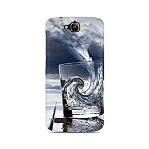 Mobicture Idea Premium Printed Case For Huawei Honor Holly