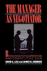 Manager as Negotiator