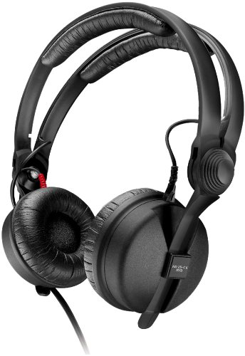 Sennheiser HD 25-C II, Closed-Back Headphones Ideal For ENG  &  Professional Monitoring With Coiled Cable