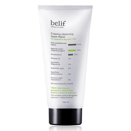 Belif Creamy Cleansing Foam Moist [Korean Import]