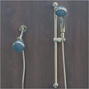 Mariner 2 Gold Double Head Showering System