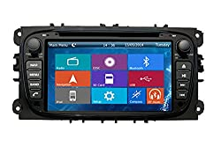 See Crusade Car DVD Player for Ford/mondeo/s-max/connect/focus 2008-2011 Support 3g,1080p,iphone 6S/5S,external Mic,Usb/sd/gps/fm/am Radio 7 Inch Hd Touch Screen Stereo Navigation System+ Reverse Car Rear Camara + Free Map Details