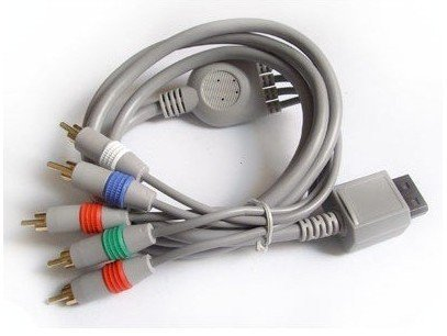Matek: AV / AV S-Video / HD PRO Component / AV D-Terminal / RGB Scart Cable for Wii Wii5L