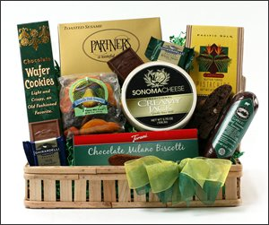 Party Planner Gourmet Gift Basket Mother's Day Gift Idea Father's Day Gift Basket