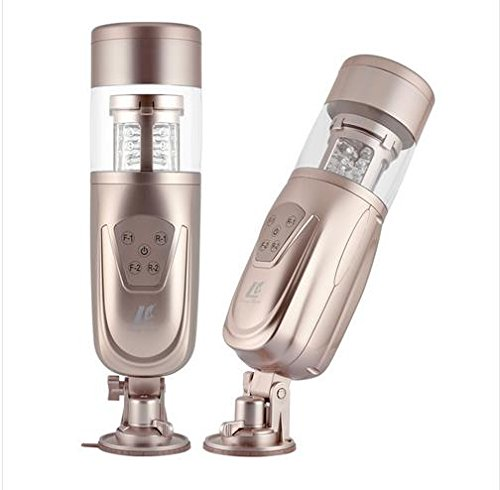 Marcaus Paint Co New Easy Love Telescopic Lover 2 Automatic Sex Machine, Rotating and Retractable Electric Male Masturbators, Sex Toys for Men