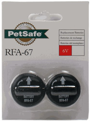 Petsafe Rfa-67d 6-Volt Batteries, Set of Four (4)