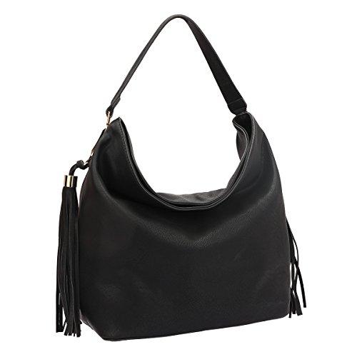 dasein-fringe-studded-faux-leather-soft-hobo-shoulder-bag-purse-for-women