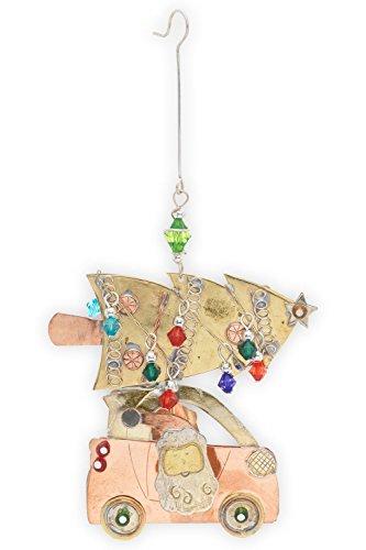 Pilgrim Imports Santas Smart Car Christmas Tree Ornament